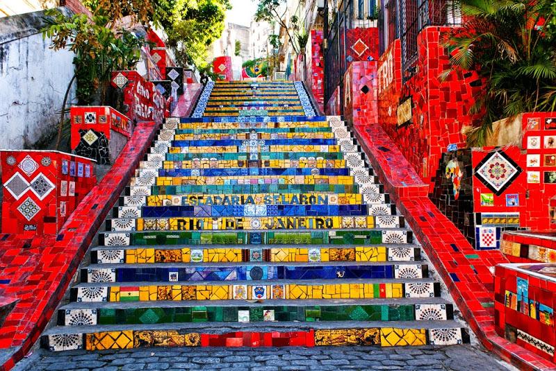Escalera de Selarón (Escadaria Selarón)